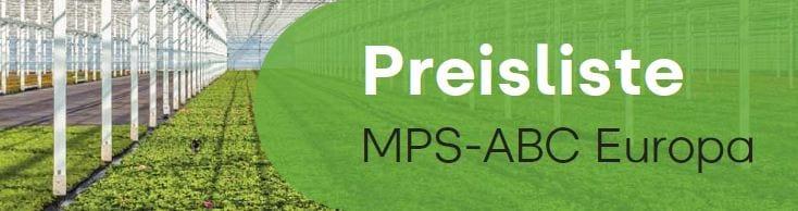 Preisliste MPS-ABC Europa